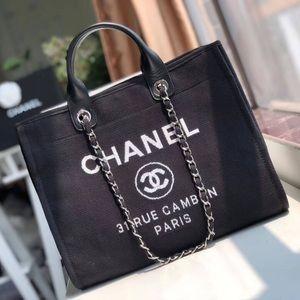 Chanel beach tote